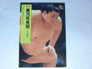 1997年 貴乃花光司 見本 サンプル版 レア BBM 大相撲カード 横綱  当時物