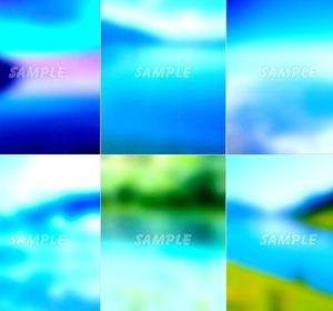 ●CG絵イラスト背景●オリジナル著作権フリー◆青空 湖 海◆幻想ファンタジー風印刷プリント高解像度画像素材集516点