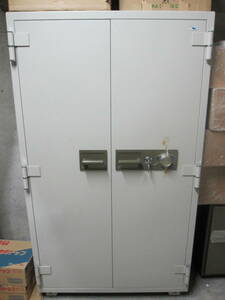 large fire-proof safe 620L beautiful goods spare key attaching automatic rod equipment proof ticket passbook valuable goods disaster prevention theft storage .* beautiful goods (CS-23). south lock domestic production goods made in Japan