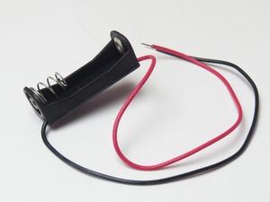 【即決送料無料】4個セット480円 12V-23A電池用電池ボックス(12V黒)★