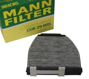 MANN CUK29005 エアコンフィルター ベンツ X204 GLKクラス W204 Cクラス W218 CLSクラス W212 W207 Eクラス R231 SLクラス W197SLSクラス