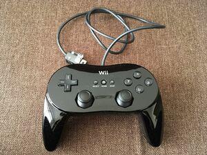 [任天堂]クラシックコントローラーPRO ブラック Wii&WiiU