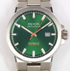 epos エポス スポーティブ ダイバー グリーン 3442GRM メンズ 自動巻 SS