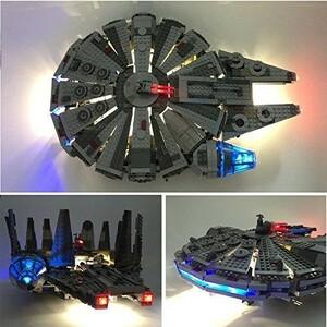 MOC LEGO レゴ 75105 スター・ウォーズ ミレニアム・ファルコン LED ライト キット DL057