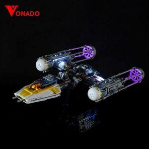 MOC LEGO レゴ ブロック 75172 互換 スター・ウォーズ Yウィング・スターファイター LED ライト キット DL004
