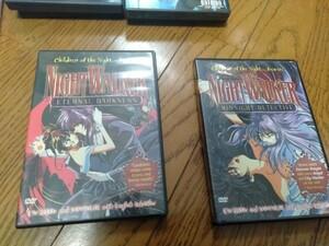 Night Walker(ナイトウォーカー)真夜中の探偵 北米版DVD