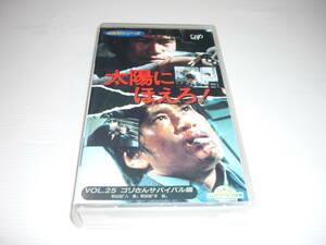 【送料無料】VHS ビデオ 1995-08 4800シリーズ 太陽にほえろ! VOL.25 ゴリさん サバイバル編 [84・98] レンタル版 / 竜雷太