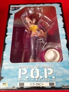 ワンピース POP ロビン Portrait.Of.Pirates フィギュア メガハウス【開封品】
