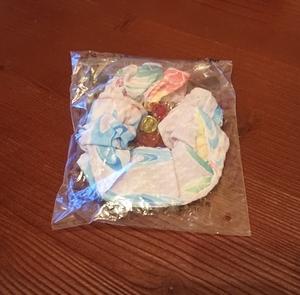 新品 ゆかたキャンペーン オリジナル帯かざり シュシュ 2008年 非売品 限定配布品 東京ディズニーランド 東京ディズニーシー TDL TDS