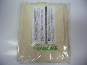 カゴメ KAGOME 株主優待 非売品◆エコバッグ マイバッグ トートバッグ◆生成り色◆210円