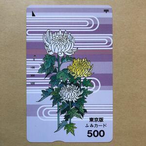 【使用済】 ふみカード 東京版