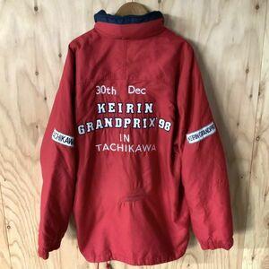 激レア 入手困難 非売品 1998年 30周年記念 競輪グランプリ 立川競輪 防寒 ジャンパー ジャケット L~XL相当 豪華刺繍 フルデコ コレクター