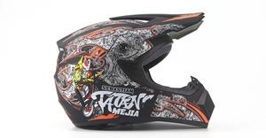 ゴーグル グローブ マスク付き! 超軽量 フルフェイス ヘルメット オフロード ヘルメット レッドブル モンスター S M L XL サイズ 11