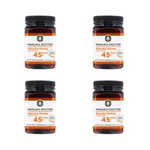 Manukaductor Manuka Honey 15+ (MGO 45+) 500 grams 4 pieces