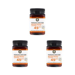 Manukaductor Manuka Honey 15+ (MGO 45+) 500 grams 3 pieces
