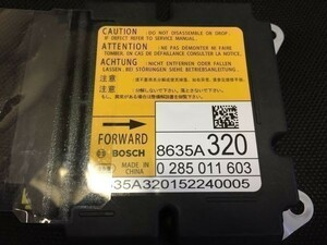 Mitsubishi  8635A072  подушка безопасности   компьютер  ECU  ремонт  делаю.  гарантия  может   Воздушный назад  AB2784