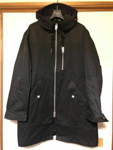 ★ DIESEL ディーゼル ☆ J-ELLER JACKET 黒 BLACK フーデット コート Sサイズ