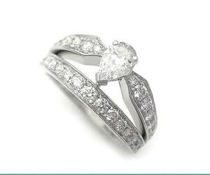 【緑屋質屋】ショーメ ジョゼフィーヌティアラリング ダイヤモンド K18WG【中古】