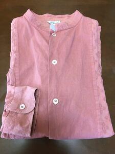 アニエスベー  ピンクシャツ
