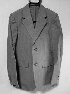 アニエスベー agnes b. homme ジャケット 44サイズ グレー テーラードジャケット アニエスベー アニエス アニエスb. agnesb.