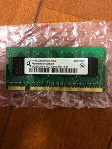 ソニーVAIO付属メモリ 512MB