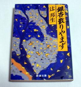 新潮文庫「銀杏散りやまず」辻邦生 古代から現代へ甲州を舞台に一族の歴史を辿る旅