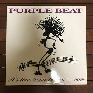 ●【eu-rap】Purple Beat / It's Time To Party Now[12inch]オリジナル盤