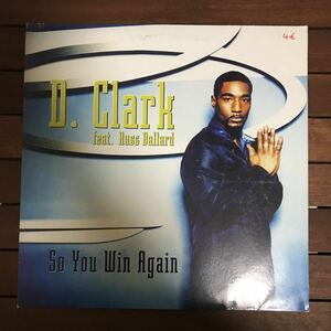 ●【eu-rap】D. Clark / So You Win Again[12inch]オリジナル盤《4-1-30》