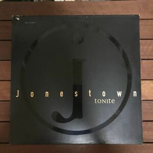 ●【eu-rap】Jonestown / Tonite[12inch]オリジナル盤《4-1-26 9595》