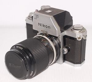 【W0989】 Nikon/ニコン F フィルムカメラ  レンズNIKKOR 43~86㎜1:3.5