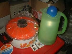 鍋未使用ポット中古品