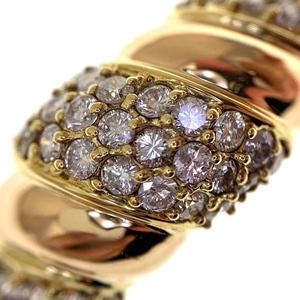 K18ダイヤモンド1.03ctファッションリング鑑別書付き