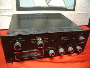 【雄大な音】★◆マッキントッシュ社C-27,プリアンプです。定価404000円していました。動作、程度良好★◆