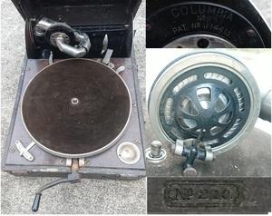 サウンドボックス No.9 コロンビア 蓄音機 No.210 運賃着払 1125R14GY
