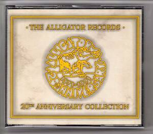 CD 2枚組 「アリゲーター・レコード20周年アニバーサリー・コレクション」V.A.(The Alligator Records 20th Anniversary Collection)
