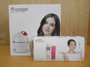 家電 美容機器 KD2333 HOT&COOL 卓上スチーマー KD777 携帯ミスト 美品 動作確認済み