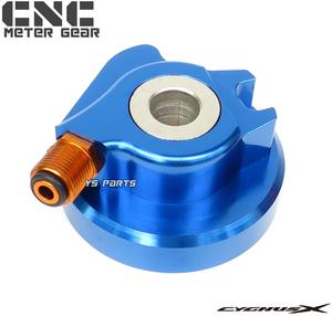 [高品質]CNC削出スピードメーターギヤ青 1型シグナスX[国内5UA/台湾5TY/SE12J]2型シグナスX[国内28S/台湾4C6/1CJ/SE44J]28S-F5190-00互換