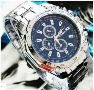 M313 メンズ腕時計ステンレススチールベルトスポーツビジネスクォーツウォッチ腕時計