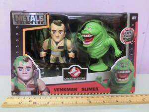 映画ゴーストバスターズ◆スライマー&ヴェンクマン ダイキャスト製 フィギュア人形 超合金◆ビル・マーレイ Ghostbusters Slimer Figure