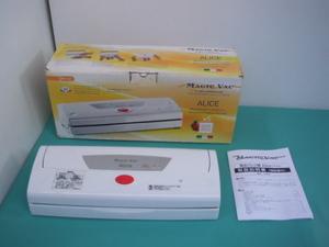 3◆Alice(アリス)V952  真空パック器 真空包装機 イタリア製◆動作品◆