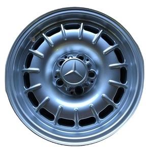 【Mercedes-Benz】 4本セット ベンツ W123 純正 タイプ ホイール 6.5J ET25 IN25 5穴 200D 220D 240D 300D 230E 280E 300CD TE含む 66.6