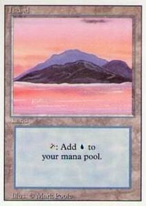 006295-003 3E 基本土地 島/Island(1) 英1枚 ▼