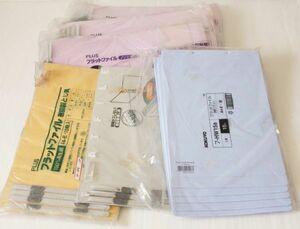 フラットファイル A4-E まとめて約26枚◆コクヨ/プラス NO022N N024 フ-HW15B 他 未使用品