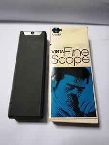 Vista fine scope 30 times Showa Retro goods small articles 90