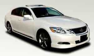 レクサス 19#系GS 後期用 ハーフエアロ3点セット(フロント・サイド・リア) 新素材ABS製  人気上昇中!!