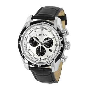 Versace ヴェルサーチ 電池式クォーツ 腕時計 VEDB005 デイト クロノグラフ メンズ高級腕時計