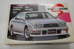 F セドリック プラモデル Y33 セドリック グランツーリスモ アルティマ 1/24 Sパッケージシリーズ S-33 日産 アオシマ
