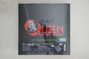 5discs LP Queen News Of The World UICY78501 UNIVERSAL MUSIC 未開封 /01250