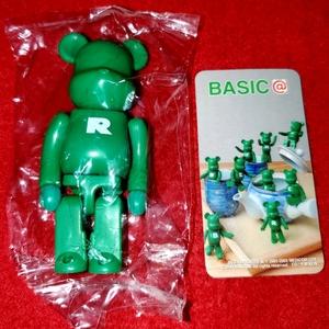 即決 メディコムトイ BE@RBRICK ベアブリック シリーズ 6 ベーシック R カード付き 袋未開封品