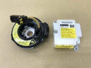 _b17322 ダイハツ ムーヴ Xリミテッド CVT DBA-L175S SRS コンピューター スパイラルケーブル エアバッグケーブル 未展開 89170-B2410